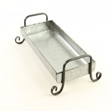 RECT.GALV.TRAY S1 W/HANDLE
