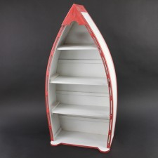 "30""WOOD BOAT SHELF S2"