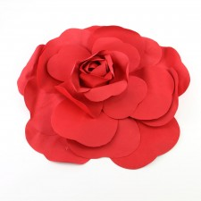 "20""DECO WALL FLOWER RED"
