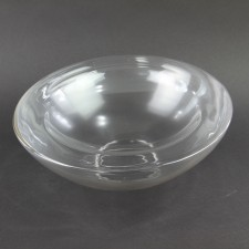 "10""X5.4"" GLASS BOWL M4"