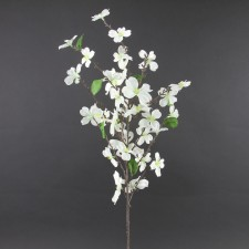 Dogwood silk flower stems 33dogwood spray a25 b17 mightylinksfo