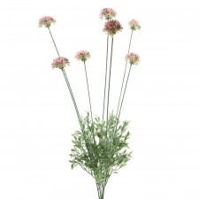 Allium silk flower stems 24 mini allium pink a25 mightylinksfo