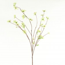 Dogwood silk flower stems 37 wild dogwood spray a25 mightylinksfo