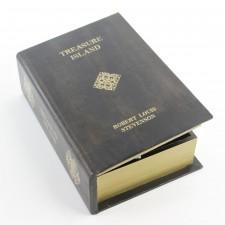 """10""""WD LTHR BOOK BOX S2"""