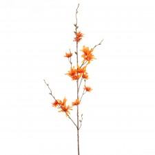 "33""WINTER LILY BRANCH ORANGE"