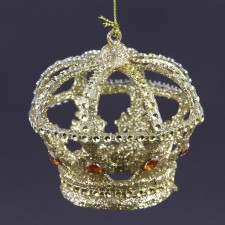 "3.5"" CROWN ORN GOLD"