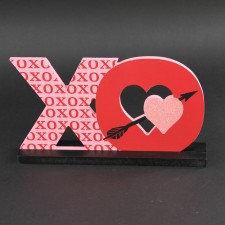 MDF CUT-OUT XO SIGN M25