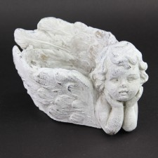 "9.25""X6.5""ANGEL WING PLANTER"