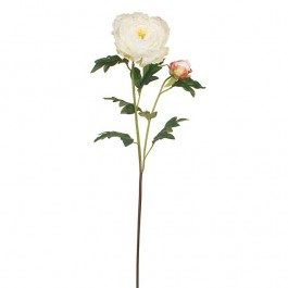 Peony Silk Flower Stem Of The Day Shinoda Design Center
