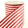 Shinoda Design Center 4-x10yd-satin-red-glt-stripe