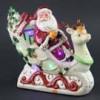 Shinoda Design Center 10-led-music-santa-in-sleigh