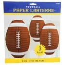PPR FOOTBALL SHAPED LANTERN