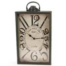 METAL RECT.WALL CLOCK