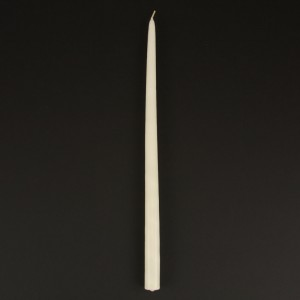 "18"" Taper Candle Ivory"