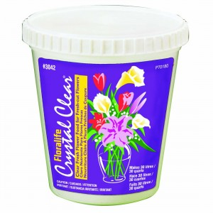 30 quart floralife crystal clear powder