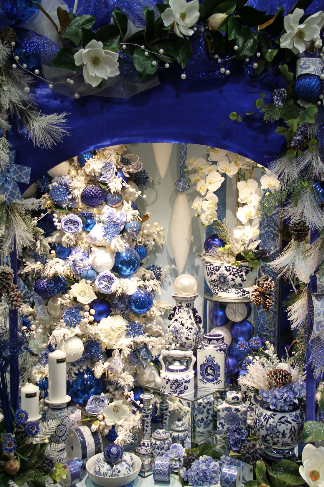 Blue Amp White Chinoiserie Christmas Shinoda Design Center
