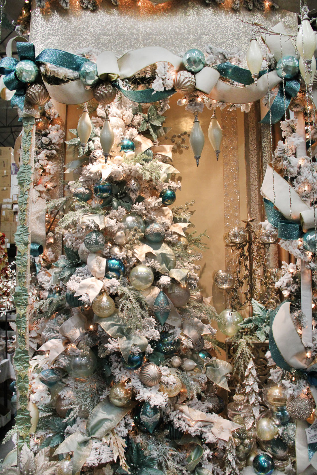 Blue White Gold Christmas Shinoda Design Center